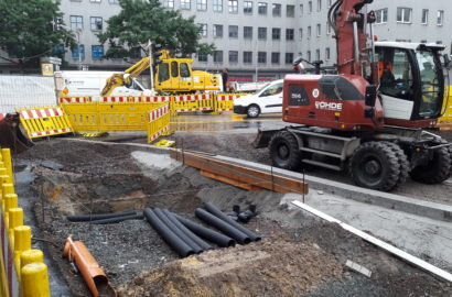 Fortschritt in der Bahnhofstraße und zügigere Entlastung der Verkehrssituation