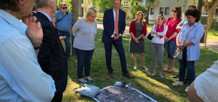 """Fraktion vor Ort: """"Housing Area"""" für bezahlbaren Wohnraum sichern"""
