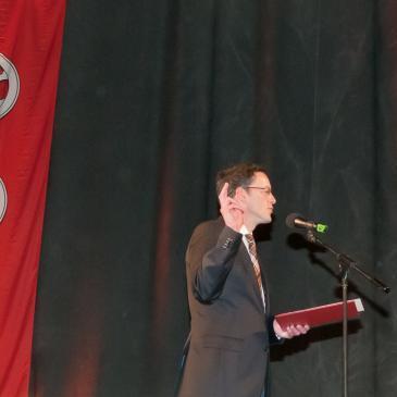 Michael Ebling bei seiner ersten Vereidigung als Oberbürgermeister am 18. April 2012