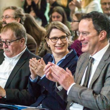 Kurt Merkator, Dr. Stefanie Hubig & Michael Ebling