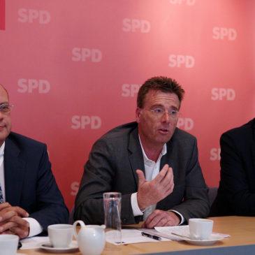 Dr. Carsten Kühl bei seiner Vorstellung als Bundeskandidat der SPD Mainz