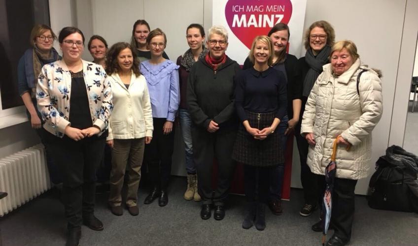 Vorstand der Arbeitsgemeinschaft sozialdemokratischer Frauen