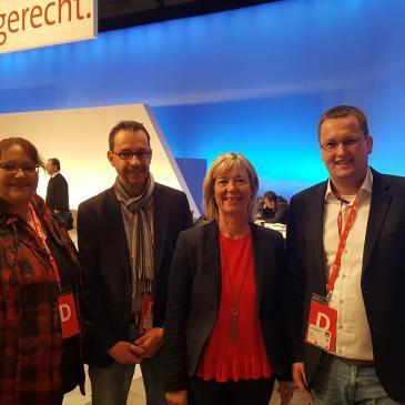 Mainz beim SPD-Bundesparteitag gut vertreten