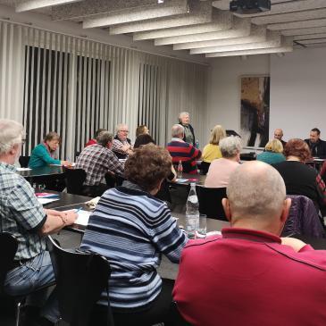 Mitgliederversammlung der AG 60plus am 17. Januar 2019