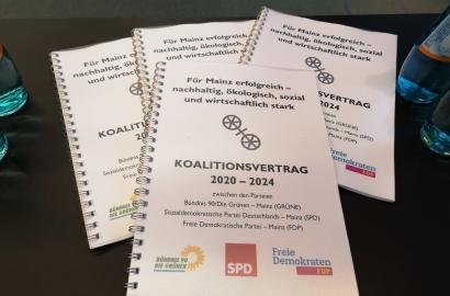 Koalitionsvertrag 2020 bis 2024