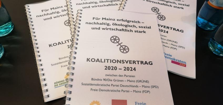 Koalitionsvertrag 2020 bis 2024