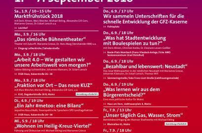 Woche der Mainzer SPD 2018