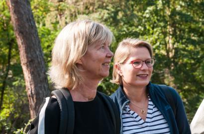 Doris Ahnen und Stefanie Hubig