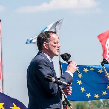 """Michael Ebling: """"Die europäische Idee hochhalten"""""""