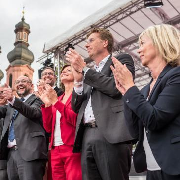 Martin Schulz in Mainz