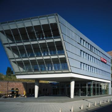 Unternehmenszentrale von DB Cargo in Mainz