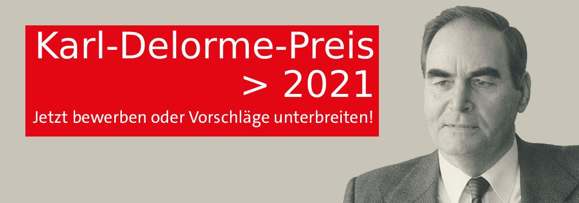 Karl-Delorme-Preis 2021