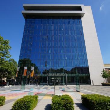 Unternehmenszentrale der Stadtwerke Mainz AG