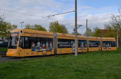 Symbolbild: Straßenbahn